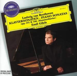 Beethoven: Piano Sonata No. 28 in A major, Op. 101, etc.