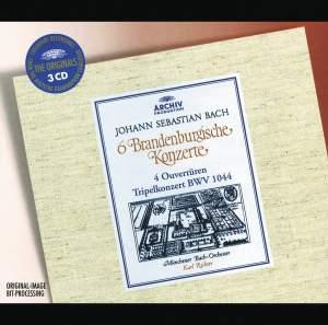 Bach, J S: Brandenburg Concertos Nos. 1-6 BWV1046-1051 (Complete), etc.