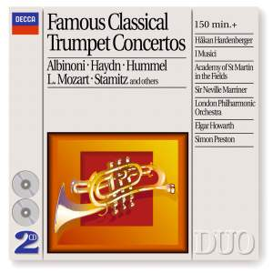 Famous Classical Trumpet Concertos Product Image