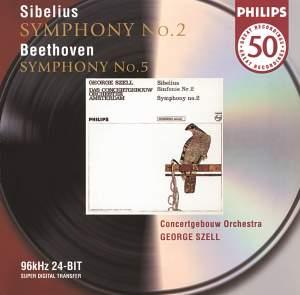 Beethoven: Symphony No. 5 and Sibelius: Symphony No. 2