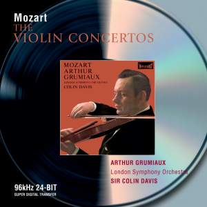 Mozart - The Violin Concertos Product Image