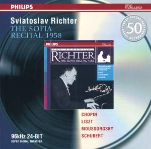 Sviatoslav Richter - The Sofia Recital 1958