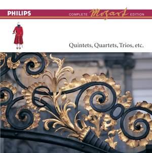 Mozart Complete Edition Box 6 - Quartets, Quintets & Trios, etc.