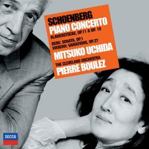 Schoenberg: Piano Concerto, Op. 42, etc. Product Image