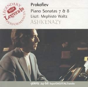 Prokofiev: Piano Sonatas Nos. 7 & 8 & Liszt: Mephisto Waltz