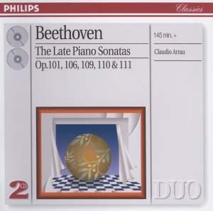 Beethoven: The Late Piano Sonatas Product Image