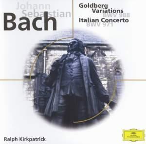 Bach: Goldberg Variations, Itallian Concerto, Fantasia & Fugue