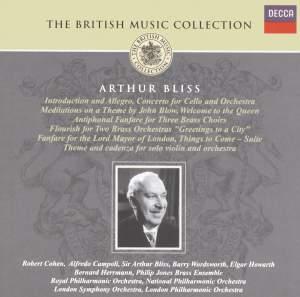 British Music Collection - Arthur Bliss Product Image