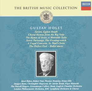 British Music Collection - Gustav Holst