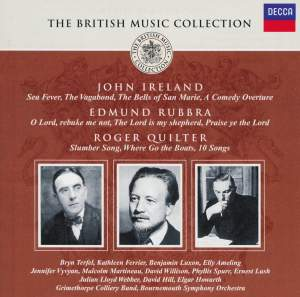 British Music Collection - John Ireland, Edmund Rubbra, Roger Quilter