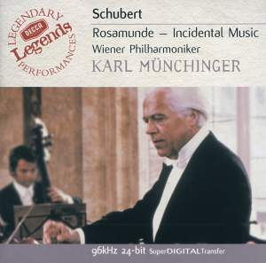 Schubert: Incidental music to Rosamunde, D797, etc.