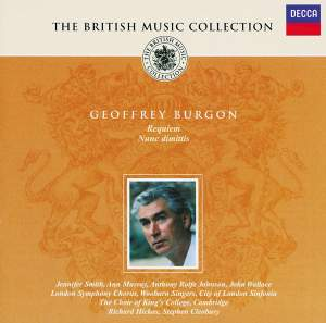 British Music Collection - Geoffrey Burgon