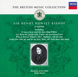 British Music Collection - Henry Rowley Bishop