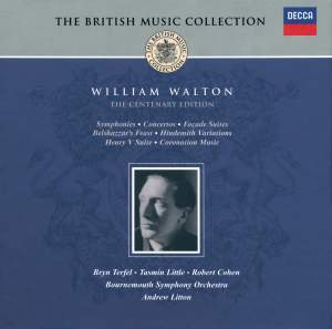 British Music Collection - William Walton - The Centenary Edition Product Image