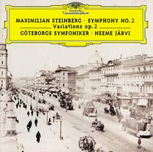 Steinberg: Symphony No. 2 & Variations Op. 2