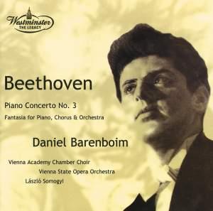 Beethoven: Piano Concerto No. 3 & Choral Fantasia