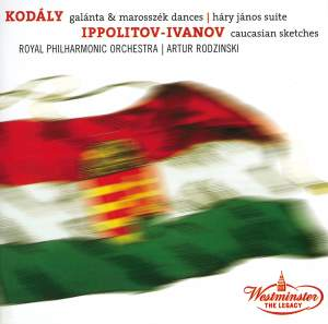 Kodály: Dances of Galánta and Marosszék