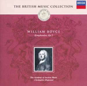 British Music Collection - William Boyce