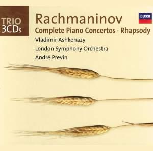 Rachmaninov - Complete Piano Concertos