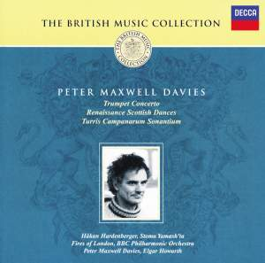 British Music Collection - Peter Maxwell Davies