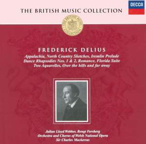 British Music Collection - Frederick Delius Product Image