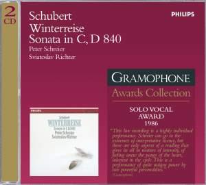 Schubert: Winterreise & Piano Sonata No. 15