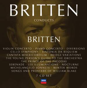 Britten conducts Britten vol. 4