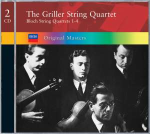 Bloch, E: String Quartets 1-4