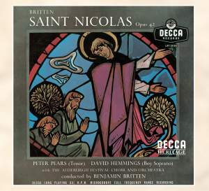 Britten: St Nicolas, Op. 42