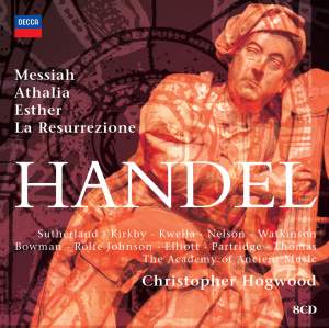 Hogwood conducts Handel Oratorios Product Image