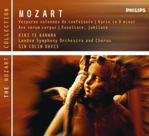Mozart: Vesperae solennes de confessore in C, K339, etc.