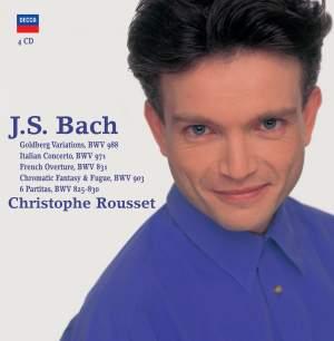 J S Bach - Harpsichord Works