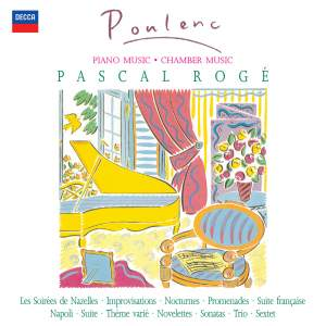 Poulenc - Solo Piano & Chamber Works Product Image