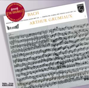 J S Bach - Sonatas & Partitas