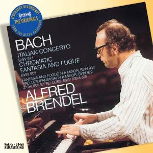 Bach: Italian Concerto, Chromatic Fantasia & Fugue & other works for keyboard
