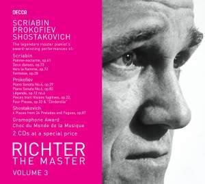 Sviatoslav Richter - The Master Volume 3