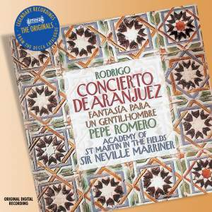 Rodrigo: Concierto de Aranjuez & other works
