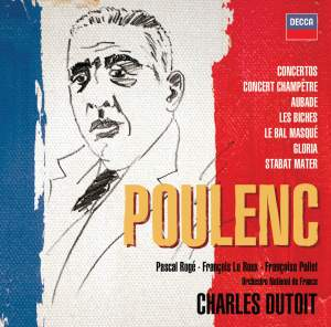 Poulenc - Concertos, Orchestral & Choral works