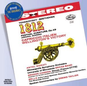 Tchaikovsky: 1812 Overture & Capriccio Italian