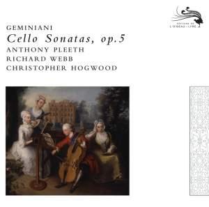 Geminiani, F: Sonatas for Violoncello & Basso Continuo, Op. 5 Nos. 1-6