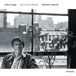 John Cage - Early Piano Music Product Image