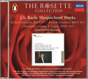 JS Bach: Harpsichord Works