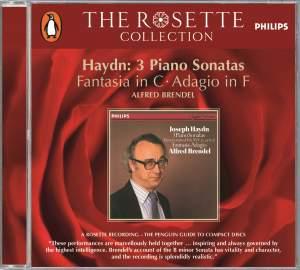 Haydn: 3 Piano Sonatas