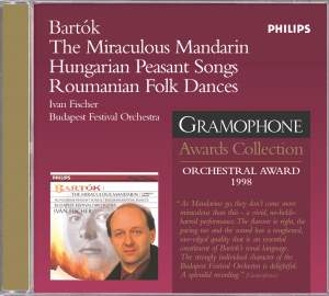 Bartók: The Miraculous Mandarin, Hungarian Peasant Songs & other folk dances