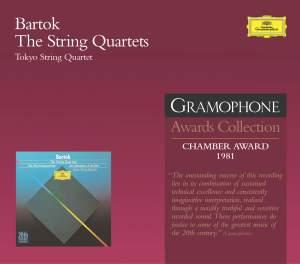 Bartók: String Quartets Nos. 1-6 (complete)