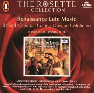 Renaissance Lute Music