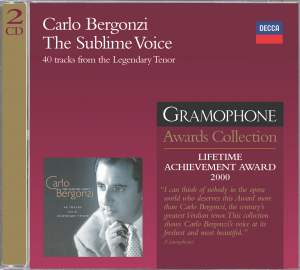 Carlo Bergonzi - The Sublime Voice