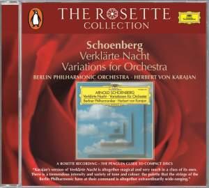 Schoenberg: Verklärte Nacht & Variations for Orchestra Product Image