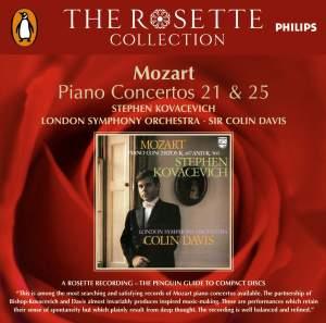 Mozart: Piano Concertos No. 21 & 25