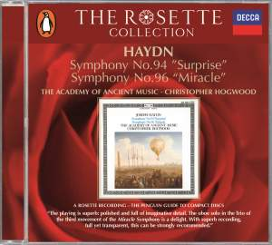 Haydn: Symphonies Nos. 94 and 96 Product Image